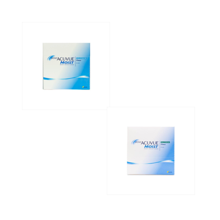 Acuvue 1 Day Moist Astig 90 Pack + Acuvue 1 Day Moist Multifocal 90 Pack Combination